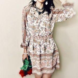 Love The Label Women's Floral Boho Dress